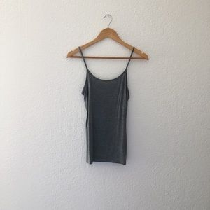 Gray Camisole Top